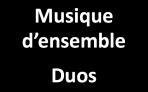 Musique d'ensemble